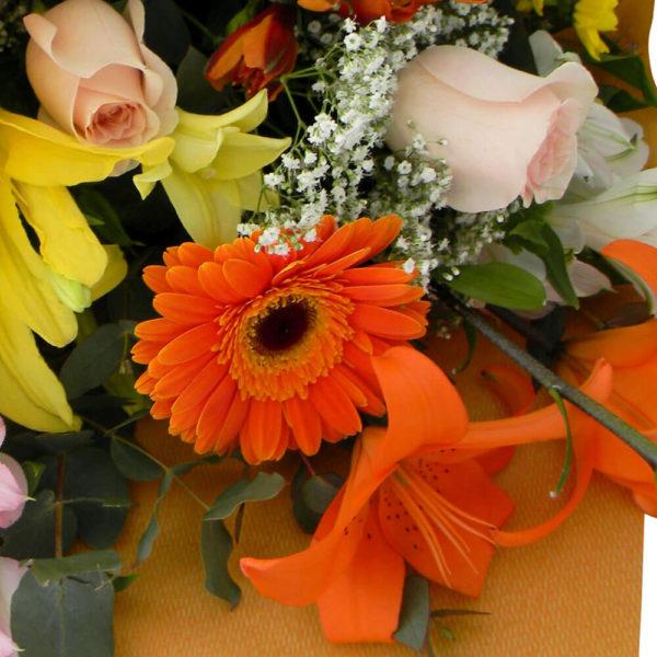 Ramo Bouquet Variado - Envío de flores y plantas, Florería La Fleur, Montevideo, Uruguay.
