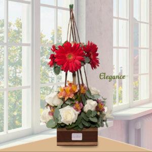 Arreglo Floral Elegance - Envío de flores y plantas, Florería La Fleur, Montevideo, Uruguay.