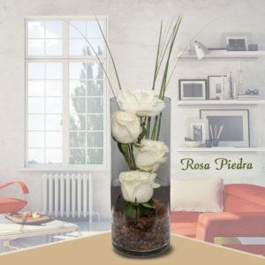 Arreglo Floral Rosa Piedra - Envío de flores y plantas, Florería La Fleur, Montevideo, Uruguay.