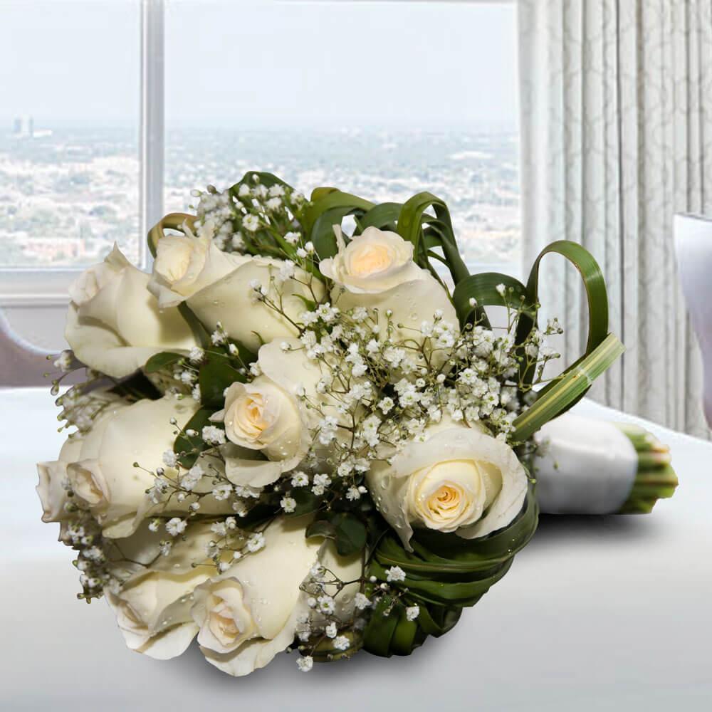 Ramo de novia de rosas grande para casamiento florer a - Ramos de flores grandes ...